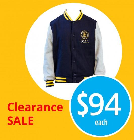 150th unisex letterman jacket