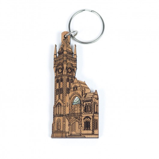 Rimu Clocktower keyring
