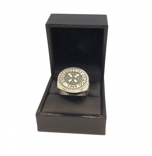 Sterling silver male signet ring