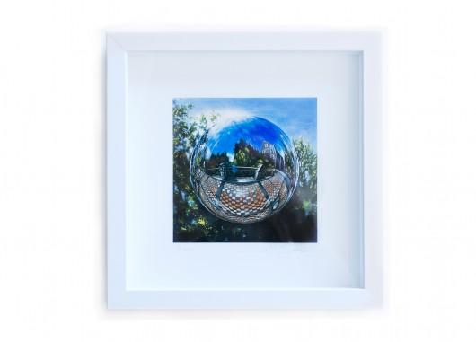 Jo St Baker Immaculate print framed 25x25cm