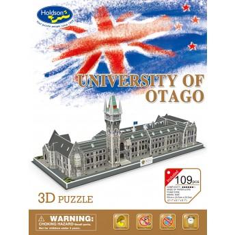 University of Otago 3D puzzle