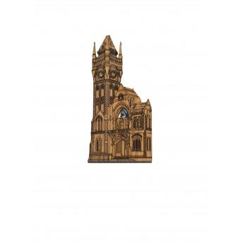 Rimu magnet clocktower building