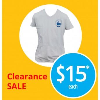 Unisex alumni v-neck t-shirt (slim)