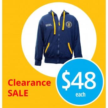 150th unisex zip up hoodie