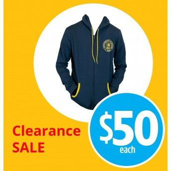 Unisex hoodie zip up