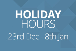 Online shop holiday hours